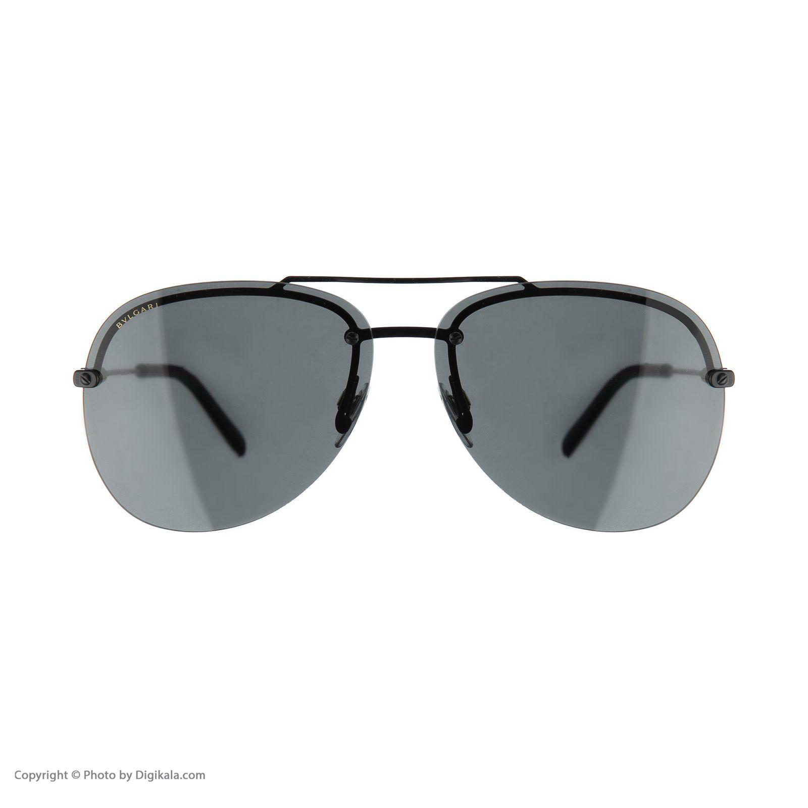 عینک آفتابی مردانه بولگاری مدل BV5044S 12887 -  - 3