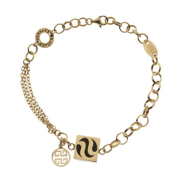 دستبند طلا 18 عیار زنانه مایا ماهک مدل MB1156