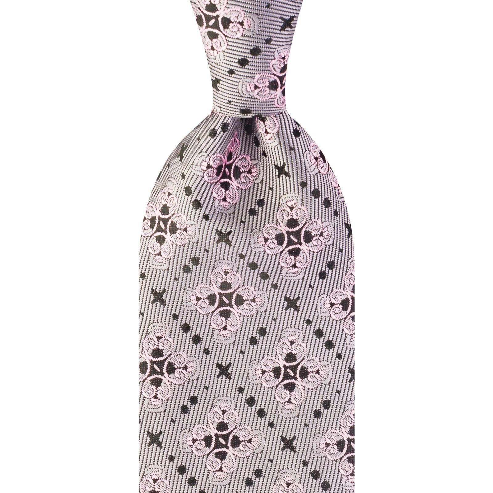 ست کراوات و دستمال جیب و گل کت مردانه جیان فرانکو روسی مدل GF-PO924-PI -  - 3