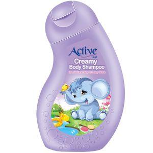 شامپو بدن کرمی کودک اکتیو مدل Purple مقدار 250 گرم