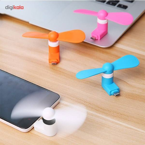 پنکه همراه مدل OTG Mini USB main 1 13