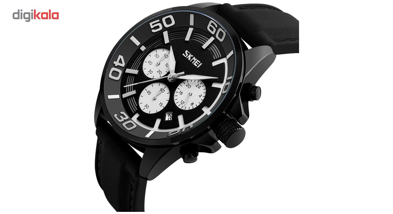 ساعت مچی عقربه ای مردانه اسکمی مدل S9154/White