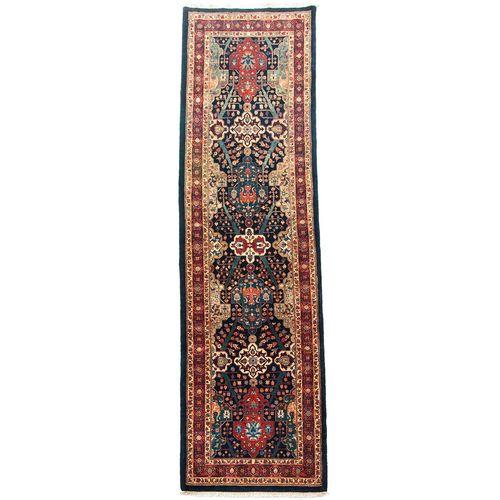 فرش کناره دستبافت طول چهار متری سی پرشیا کد 101878