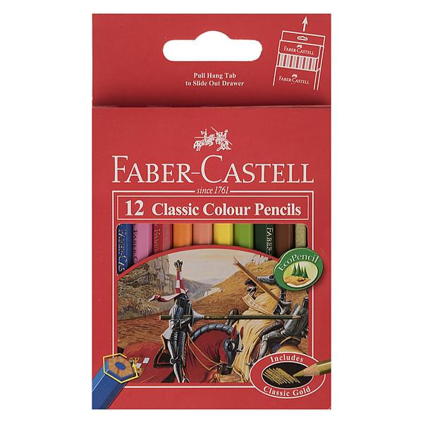 مداد رنگی 12 رنگ فابر-کاستل مدل Classic