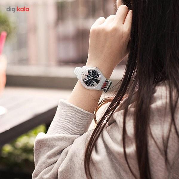 ساعت مچی عقربه ای زنانه سواچ مدل SUOW122