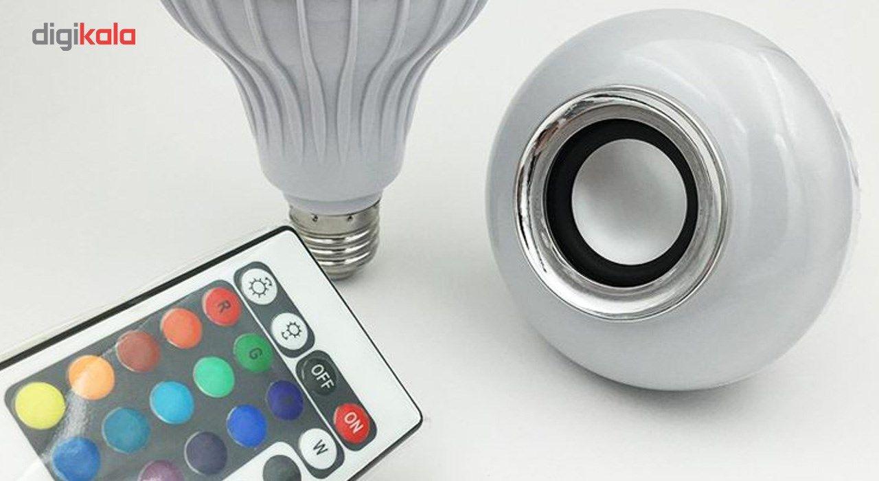 لامپ هوشمند و اسپیکر بلوتوث شانگدا کد SD-YYQP-2002  main 1 3