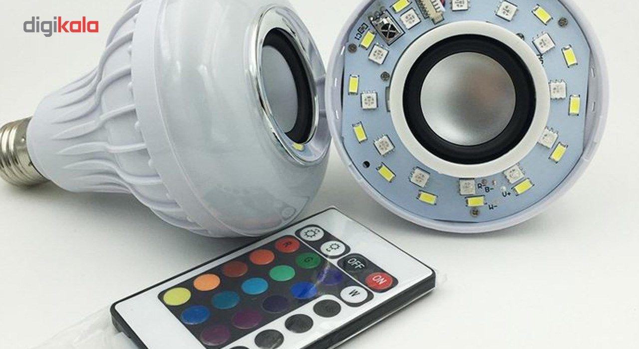 لامپ هوشمند و اسپیکر بلوتوث شانگدا کد SD-YYQP-2002  main 1 4