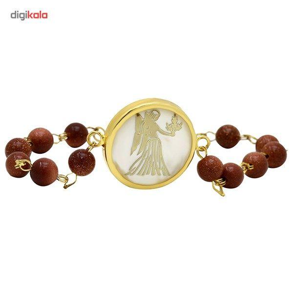 دستبند طلا 18 عیار ماهک مدل MB0126 - مایا ماهک -  - 1