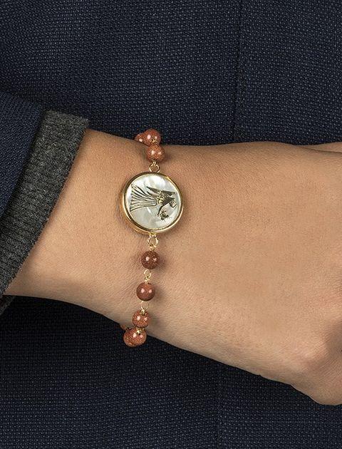 دستبند طلا 18 عیار ماهک مدل MB0126 - مایا ماهک -  - 3