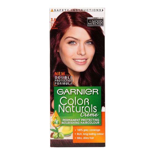 کیت رنگ مو گارنیه شماره Color Naturals Adria Shade 3.6