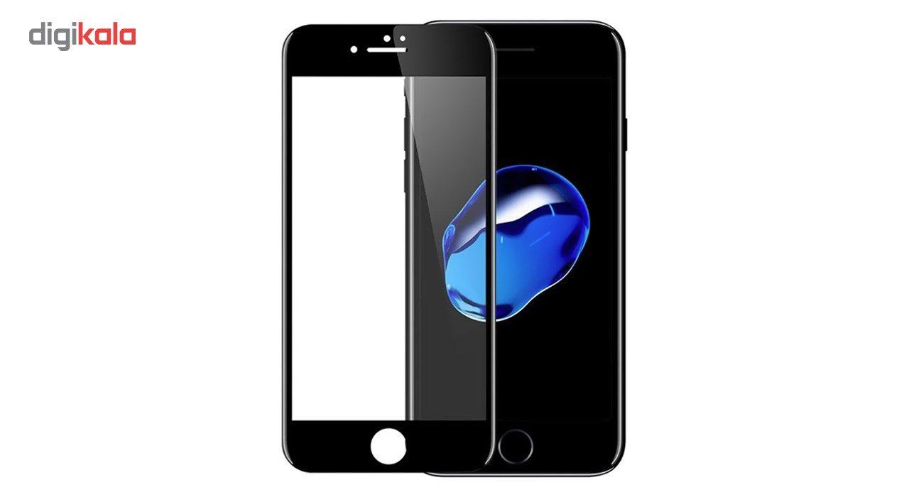 محافظ صفحه نمایش شیشه ای کوالا مدل Full Cover مناسب برای گوشی موبایل اپل آیفون8 main 1 2