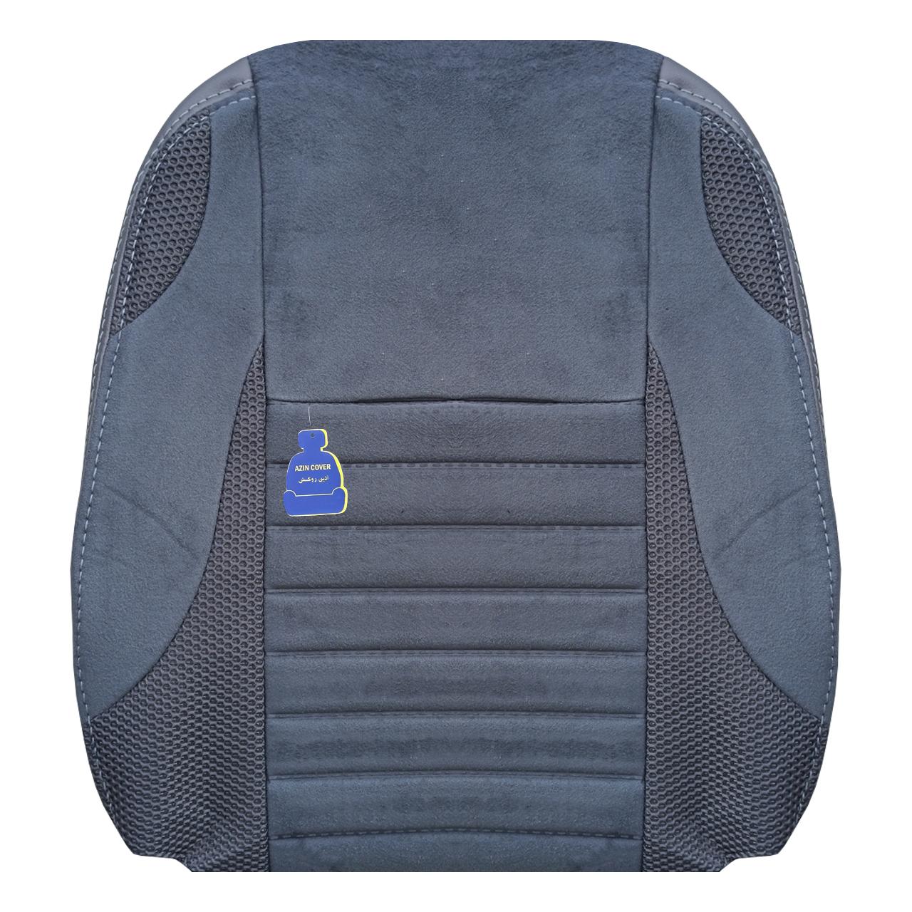 روکش صندلی خودرو آذین روکش مدل AZ208 مناسب برای تیبا 2 و کوییک