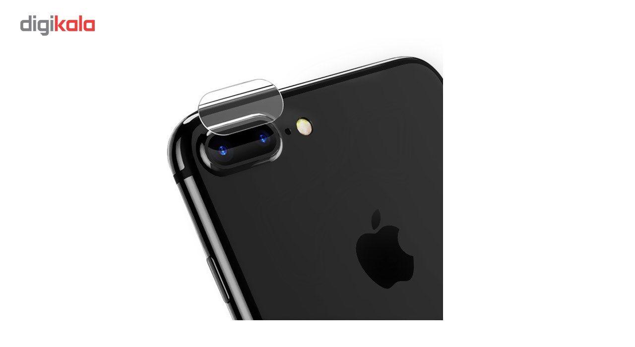 محافظ صفحه نمایش شیشه ای Tempered و پشت شیشه ای Tempered و محافظ لنز دوربین کوالا مناسب برای گوشی موبایل اپل آیفون 8 پلاس main 1 4