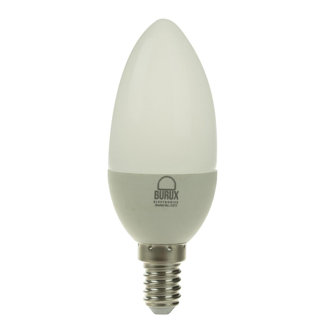 لامپ شمعی ال ای دی 3 وات بروکس مدل BRX003C30E1A4XX-PARC پایه E14