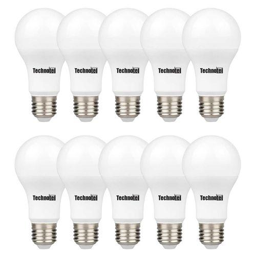 لامپ ال ای دی 9 وات تکنوتل مدل 309 پایه E27 بسته 10 عددی