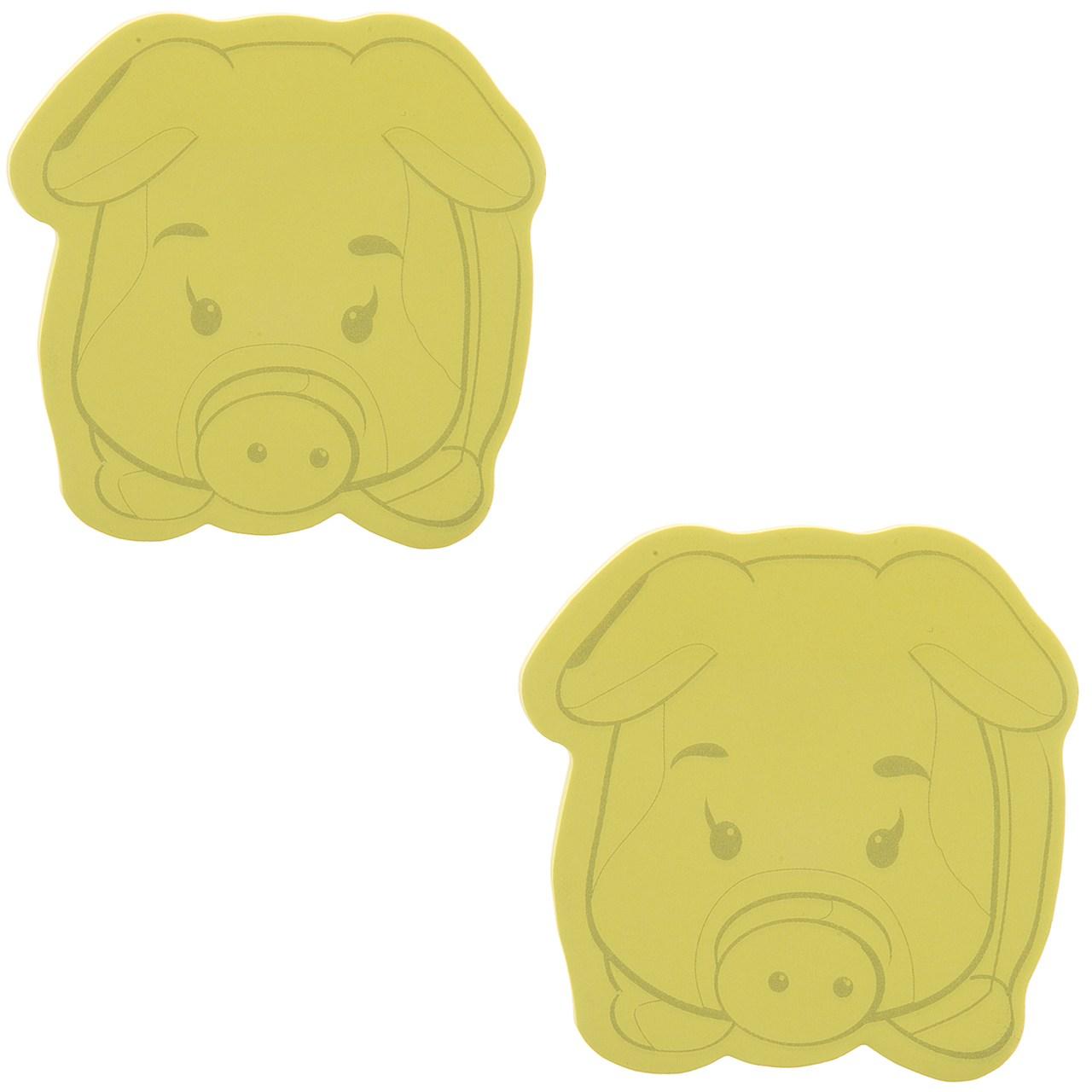 کاغذ یادداشت چسب دار فنس طرح خوک کد 9210 بسته 70 عددی