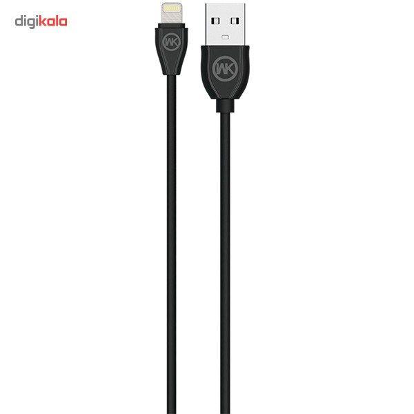 کابل تبدیل USB به لایتنینگ دبلیو کی مدل Ultra Speed طول 1 متر main 1 1