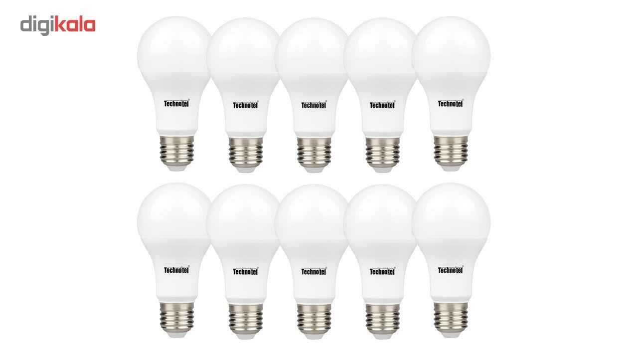 لامپ ال ای دی 9 وات تکنوتل مدل 309 پایه E27 بسته 10 عددی main 1 1