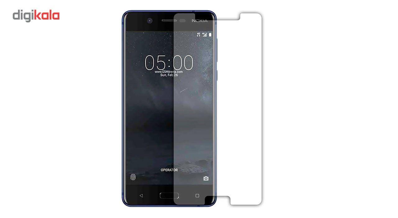 محافظ صفحه نمایش شیشه ای مدل Tempered مناسب برای گوشی موبایل نوکیا 5 main 1 1