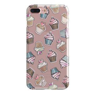 کاور سخت مدل  Cupcake  مناسب برای گوشی موبایل آیفون 7 پلاس و 8 پلاس