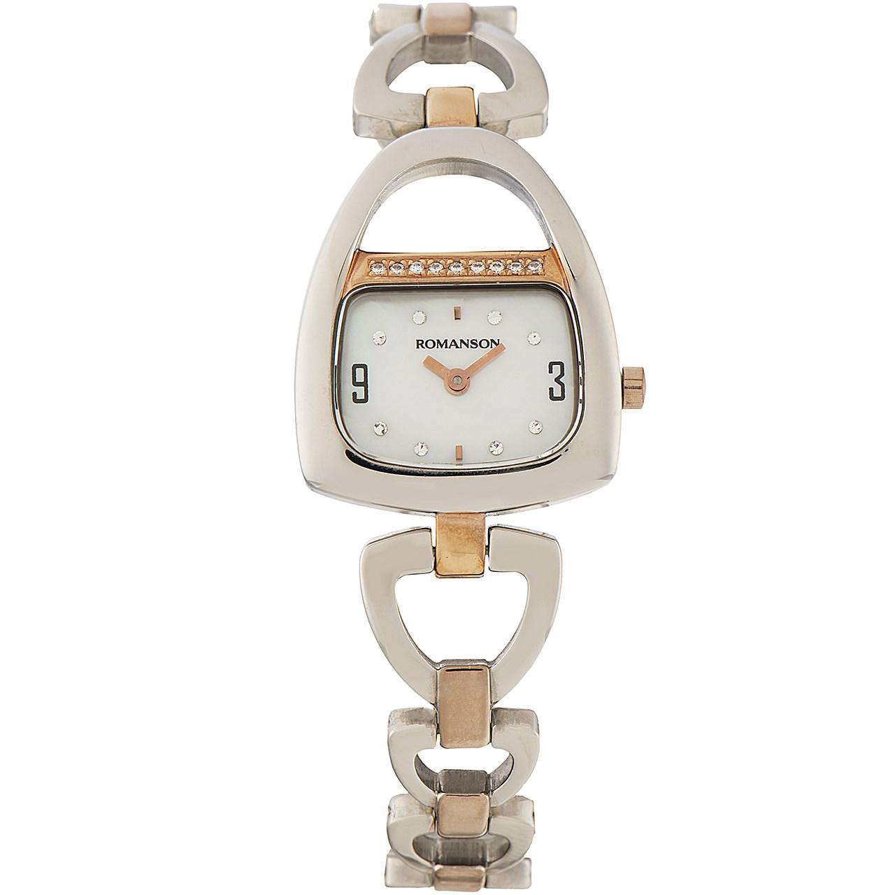 ساعت مچی عقربه ای زنانه رومانسون مدل RM1207QL1JM16R