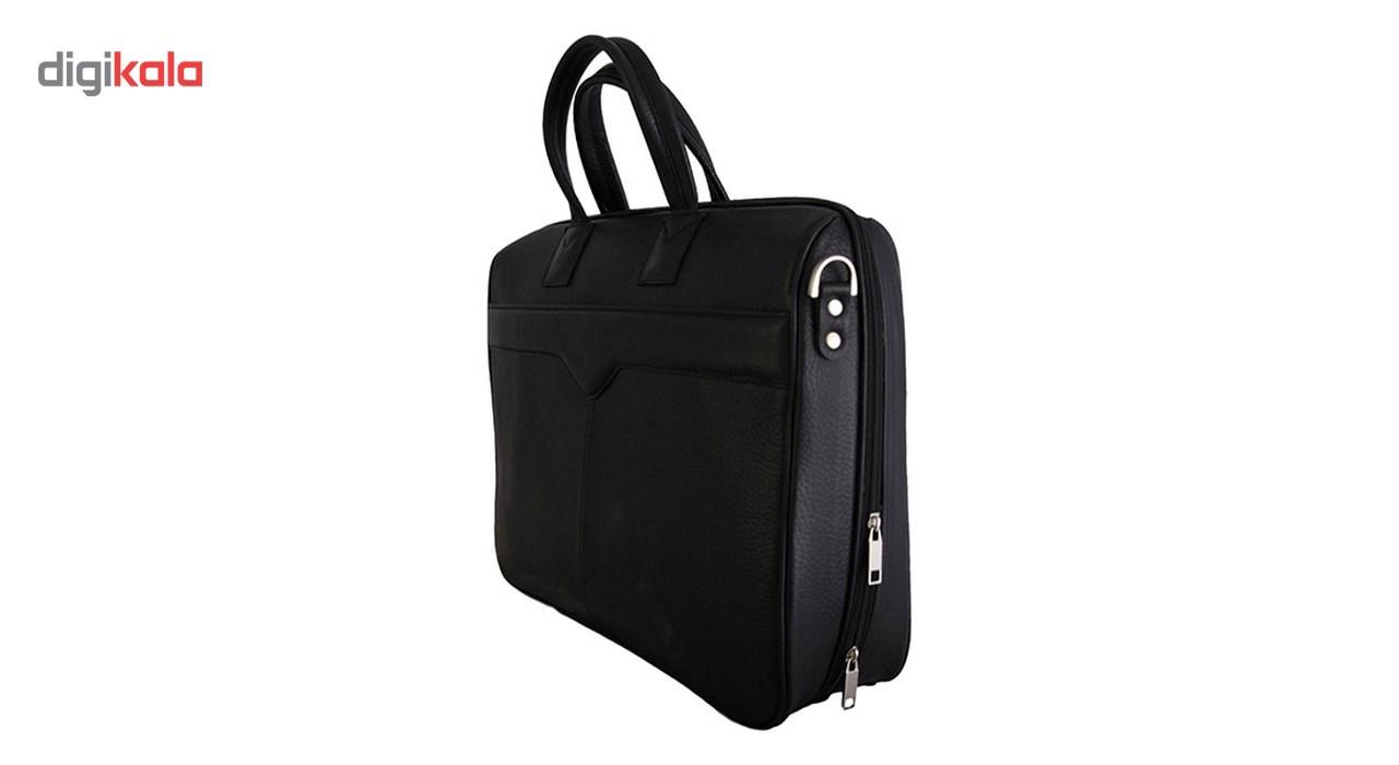 کیف دستی چرم طبیعی گالری مثالین مدل 24010