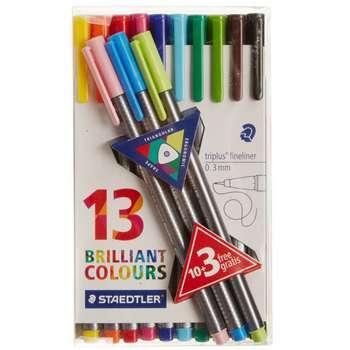 روان نویس 13 رنگ استدلر مدل Triplus Brilliant Colours