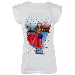 تی شرت زنانه ماییلدا مدل 3522-10