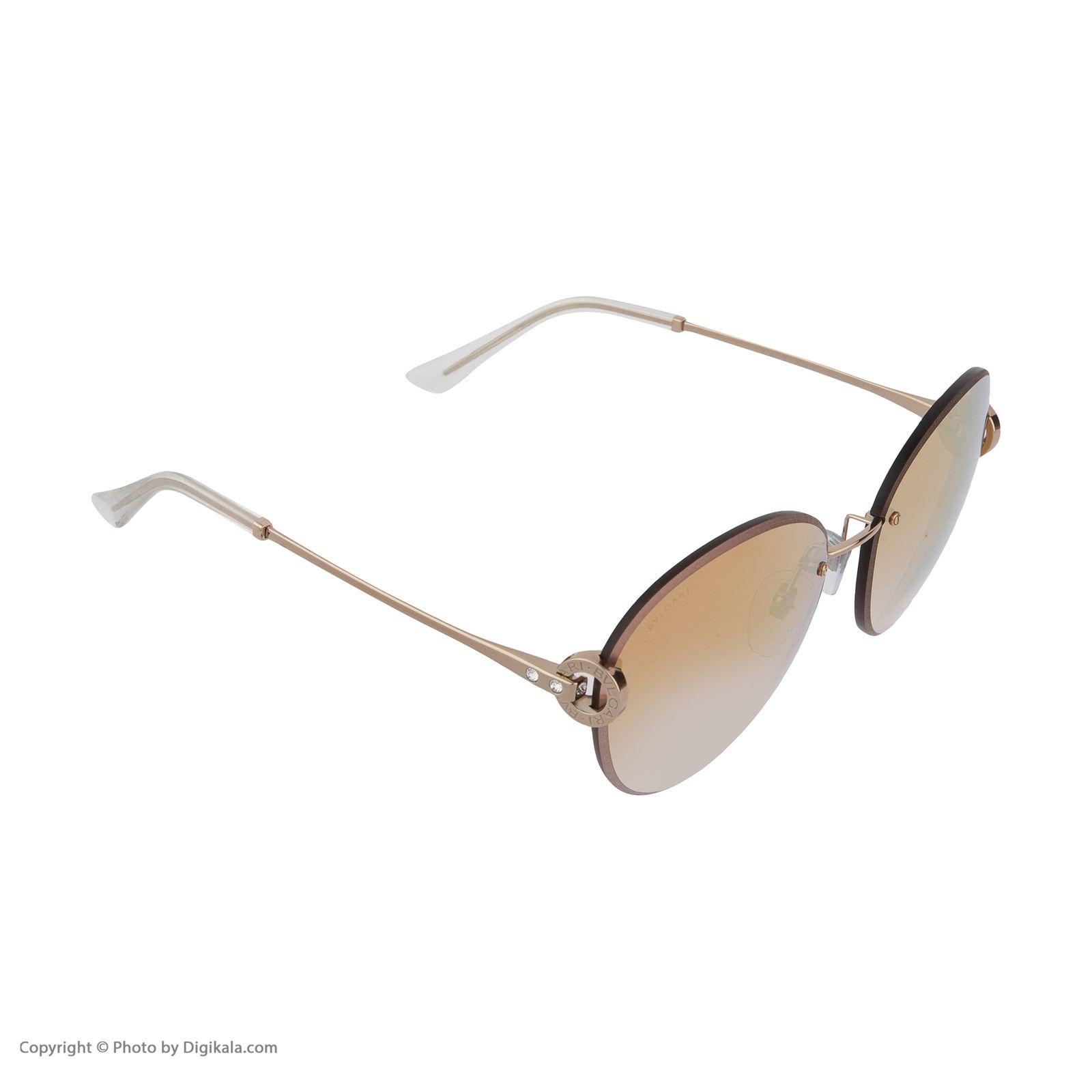 عینک آفتابی زنانه بولگاری مدل BV6091B 20146F -  - 4