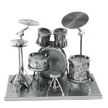 پازل سه بعدی فلزی مدل Shelf drum