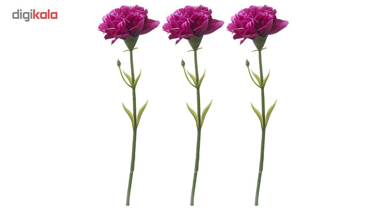 گل مصنوعی ایکیا طرح میخک مدل Smycka مجموعه 3 عددی main 1 1