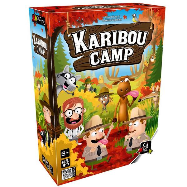 بازی فکری ژیگامیک مدل karibou Camp