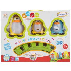 قطار اسباب بازی شنگ چوان مدل Swing Penguin