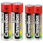 باتری قلمی و نیم قلمی کملیون مدل Plus Alkaline بسته 4 عددی thumb