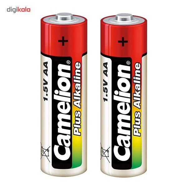باتری قلمی و نیم قلمی کملیون مدل Plus Alkaline بسته 4 عددی main 1 2