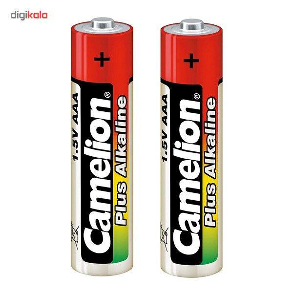 باتری قلمی و نیم قلمی کملیون مدل Plus Alkaline بسته 4 عددی main 1 3