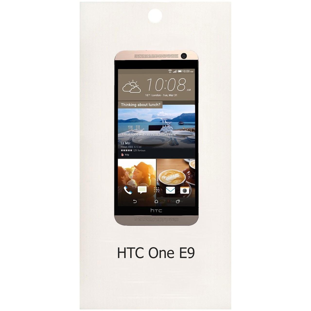 محافظ صفحه نمایش شیشه ای مدل Sum Plus مناسب برای گوشی موبایل اچ تی سی One E9