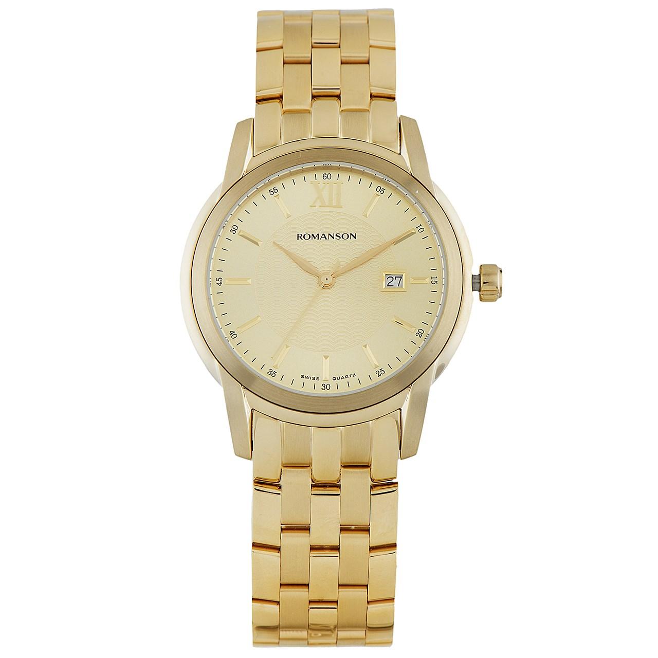 ساعت مچی عقربه ای مردانه رومانسون مدل TM2649MM1GA81G 41