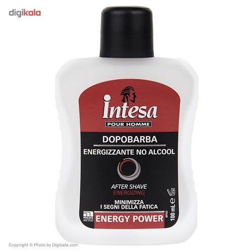 افتر شیو اینتسا مدل Energy Power حجم 100 میلی لیتر