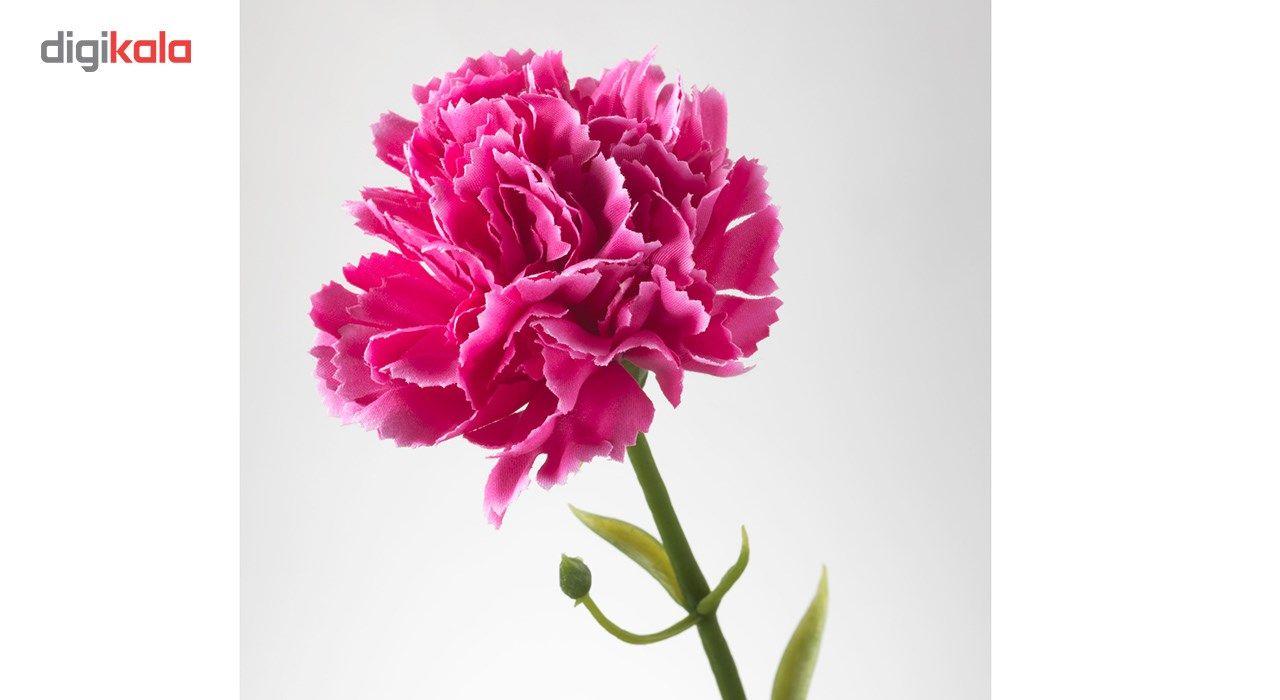 گل مصنوعی ایکیا طرح میخک مدل Smycka مجموعه 3 عددی main 1 5