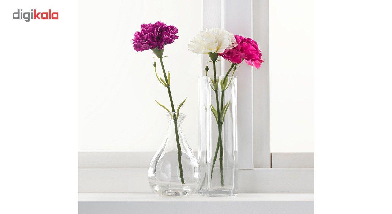 گل مصنوعی ایکیا طرح میخک مدل Smycka مجموعه 3 عددی main 1 6
