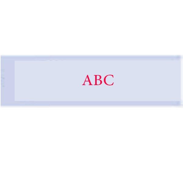قیمت                      بر چسب  پرینتر لیبل زن با متن قرمز بر روی زمینه شفاف