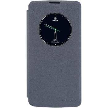 کیف کلاسوری نیلکین مدل New Leather Sparkle مناسب برای گوشی موبایل ال جی K8