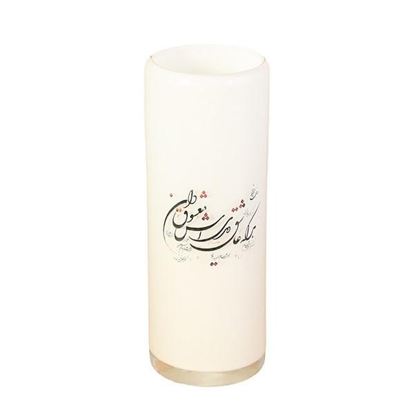 گلدان شیشه ای استوانه ای  گالری ساتگین کد 57177