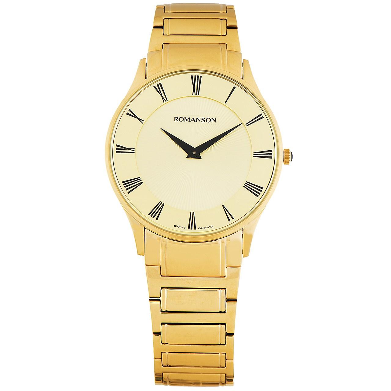 ساعت مچی عقربه ای مردانه رومانسون مدل TM0389MM1GA85B 19