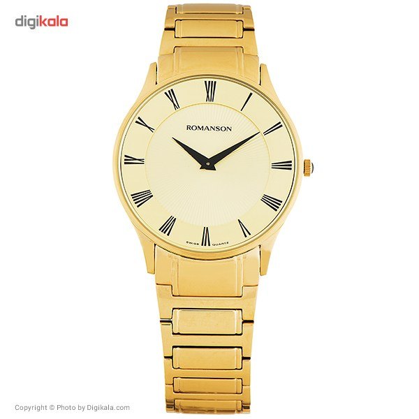 ساعت مچی عقربه ای مردانه رومانسون مدل TM0389MM1GA85B