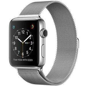 ساعت هوشمند اپل واچ سری 2 مدل 42mm Stainless Steel Case with Milanese Loop
