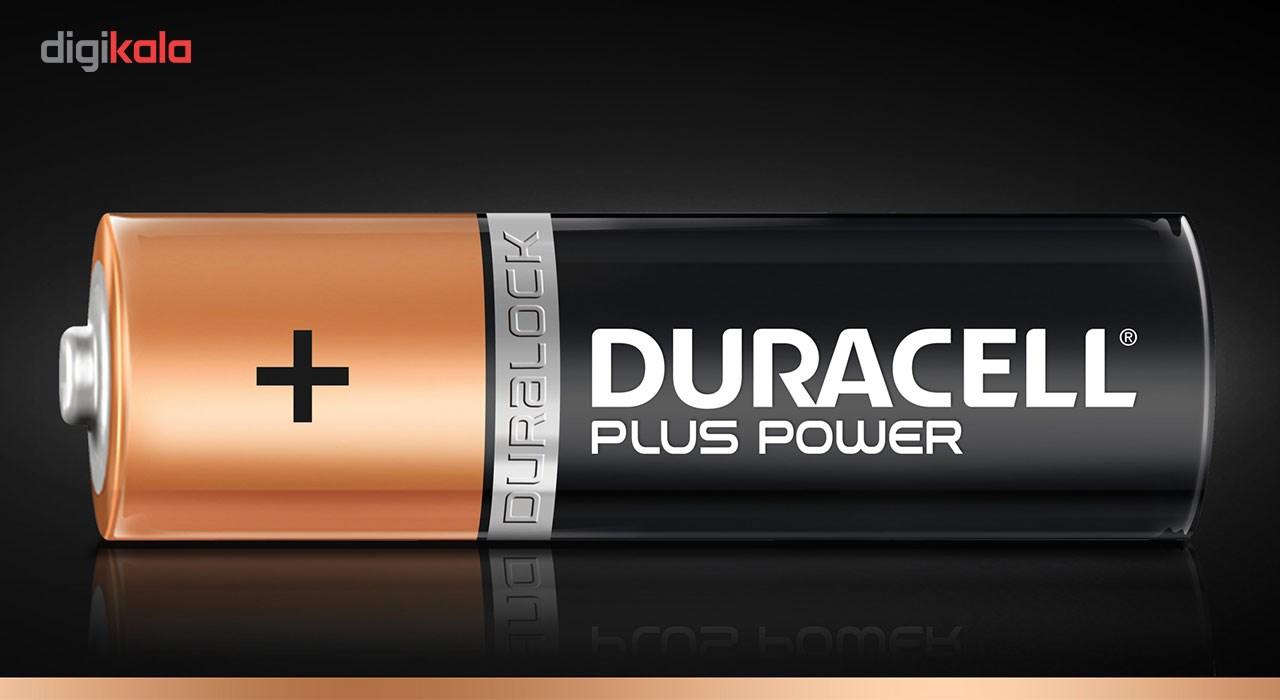 باتری نیم قلمی دوراسل مدل Plus Power بسته 6 + 2 عددی main 1 2