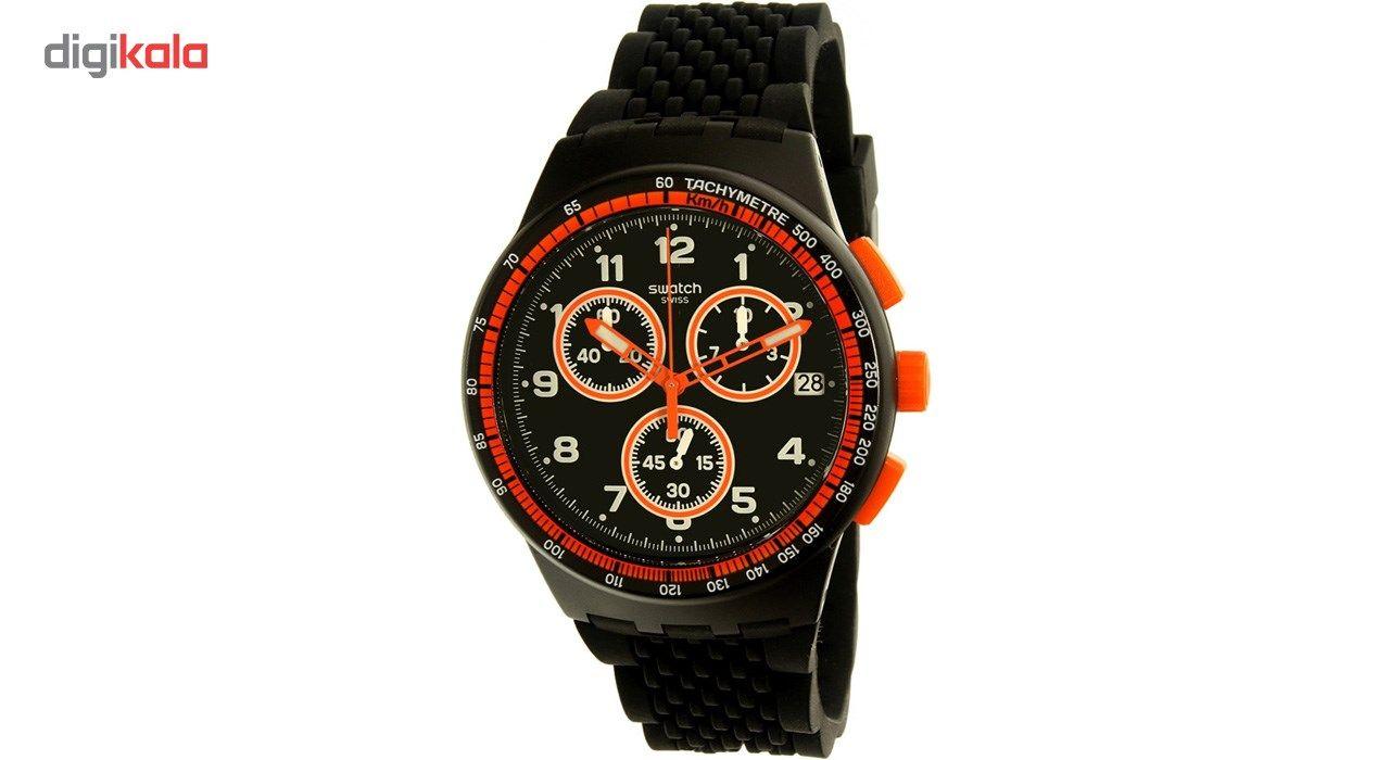 ساعت مچی عقربه ای مردانه سواچ مدل SUSB408 -  - 1