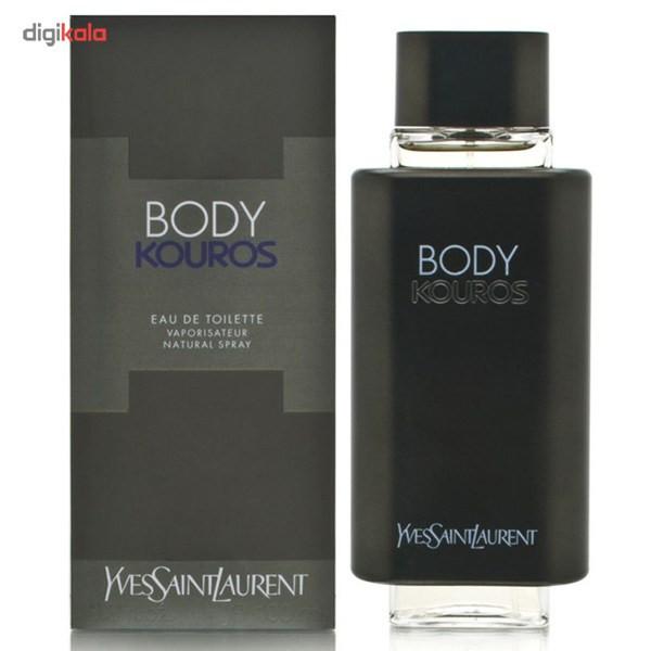 ادو تویلت مردانه ایو سن لوران مدل Body Kouros حجم حجم 100 میلی لیتر
